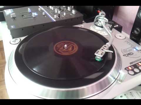 Playing a 78-rpm record on a modern DJ Turntable (I)