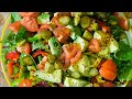How To made Beautiful Christmas ! Weight loss salad recipe. Chef Ricardo Cooking
