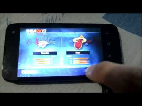 NBA2K13 CHERRY MOBILE FLARE