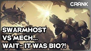 Swarmhost vs Mech... WAIT- IT WAS BIO?! - Crank's StarCraft 2 Variety!