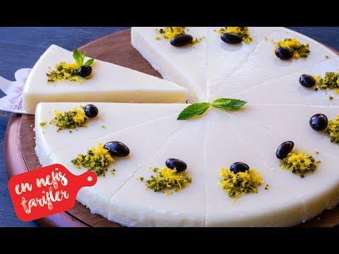 Limonlu Sütlü İrmik Tatlısı Nasıl Yapılır? Limonlu İrmik Tatlısı Tarifi (Hafif Yaz Tatlıları)