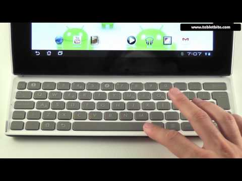 Asus EEE Pad Slider SL101 review - 1st part - exterior,keyboard,screen