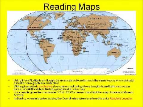 World History C0S1: Basic Map reading and Geography