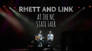 Rhett & Link at the NC State Fair - 10/12/18