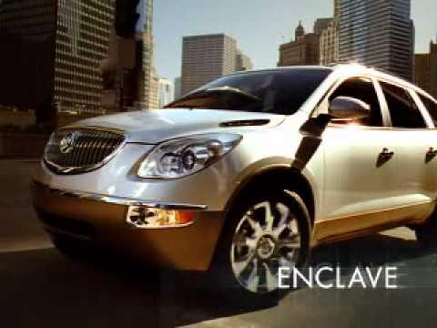 Buick Enclave, реклама