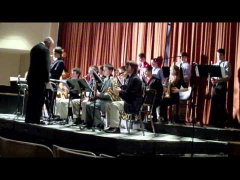 Swingin' The Blues- Count Basie(arr. Eddie Durham): Franklin High Performs