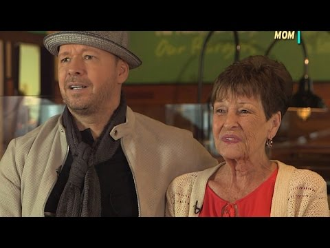 EXCLUSIVE: Self-Proclaimed 'Mama's Boy' Donnie Wahlberg Adds Fire to Debate Over Who's Mom's Favo…