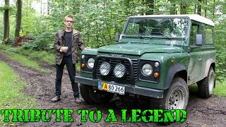 Land Rover Defender Tribute: Tribute To A Legend