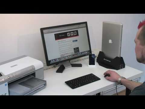 Byte-dock - Mac Book Pro Docking Station - the only all in one, on end Docking Station - Demo