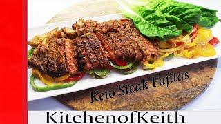 Keto Steak Fajitas