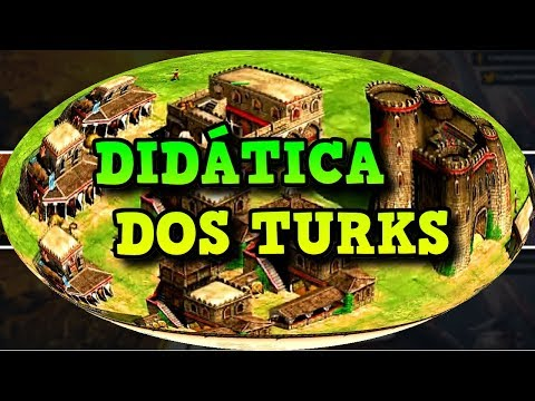 Age of Empires 2 HD Didática dos Turks AoE2HD Gameplay PT BR