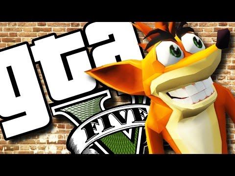 GTA V PC - Crash, Dora, Crysis, CJ e Mais (MODS)