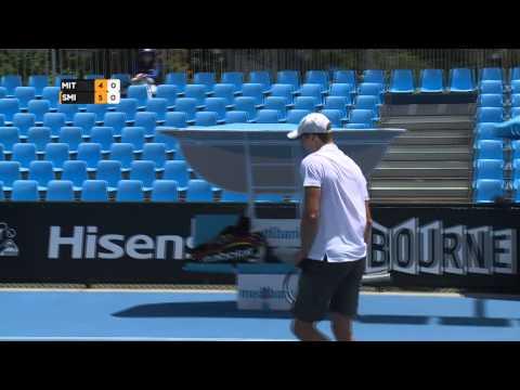 Day 5: Men's Semi Finals: Australian Open 2015 Wildcard Play: off