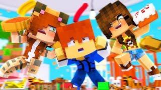 Minecraft Daycare - FOOD FIGHT !? (Minecraft Roleplay)
