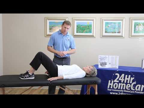 24Hr HomeCare Physical Therapy Videos: Hip Replacement Exercises After Surgery