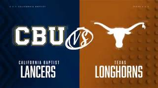 Texas Men's Basketball vs California Baptist LHN Highlights [Nov. 12, 2019]