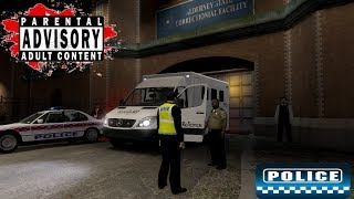 Police Patrol 5 PC Game, Police Chase, Arrest, Interview, Prison Gta IV