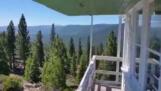 Calpine Fire Lookout, site info