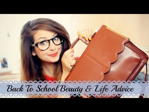 Back To School Beauty & Life Q&A   Zoella