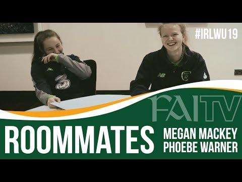 ROOMMATES with #IRLWU19 Megan Mackey & Phoebe Warner!