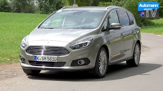 2016 Ford S-Max (240hp) EcoBoost - First DRIVE (60FPS)