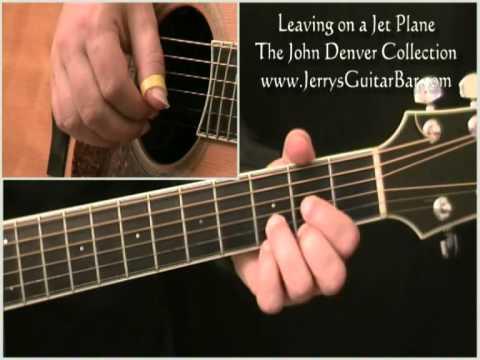 How To Play John Denver Leaving On A Jet Plane video