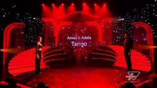 Amos & Adela -Kercimi i pare - Tango - Finalja - Show - Vizion Plus