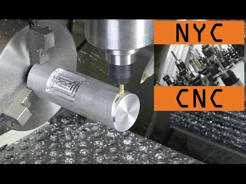 May the 4th Be With You! Part 1 of 3:  CNC Milling with a 4th Axis