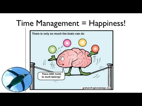 How to Manage Time, Reduce Stress and Increase Happiness