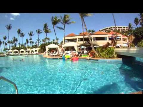 Grand Wailea Resort - Maui, Hawaii - WaterSlide, Pool, Beach