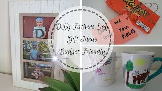 3 DIY FATHERS DAY GIFT IDEAS | DIY MADE BY KIDS | BUDGET FRIENDLY