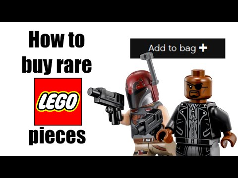 How to buy RARE LEGO pieces from LEGO.com!