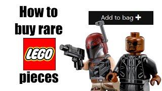 How to buy RARE LEGO pieces from LEGO.com!