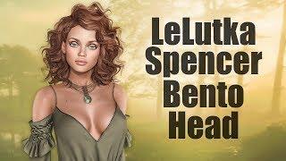 LeLutka Spencer Bento Mesh Head in Second Life