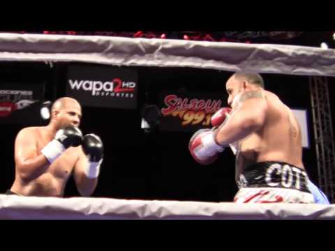"CARLOS ""CHICANO"" COTTO VS VICTOR PIZARRO"