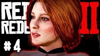 Red Dead Redemption 2 – Part 4 Gameplay | VALENTINE BAR FIGHT | Walkthrough RDR2 PS4 Pro