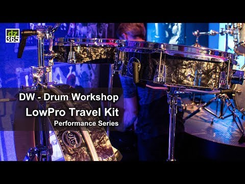 DW (Drum Workshop) - LowPro Travel Kit