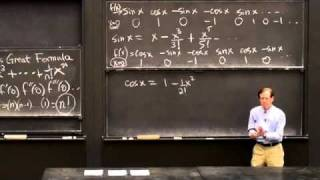 Power Series/Euler's Great Formula | MIT Highlights of Calculus