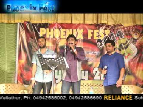 Kannur Shareef in PHOENIX College Vailathur  album SONG Remix...................