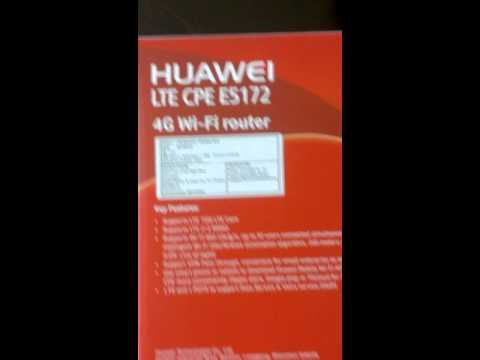 Unboxing Airtel/Huawei 4G LTE WI-FI CPE Device, Learning it features