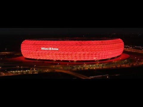 Stadium of lights: A look behind the scenes at Bayern Munich's Allianz Arena