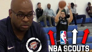 LiAngelo Ball SHOOTING W/20+ NBA TEAMS Watching!