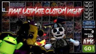 Descarga fnaf ultimate custom night para android (Fan Made) fnaf 7 apk