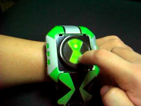 how to make ben 10 race against time omnitrix