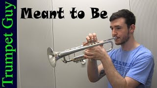 Download Lagu Bebe Rexha - Meant to Be (Trumpet Cover) ft. Florida Georgia Line Gratis STAFABAND