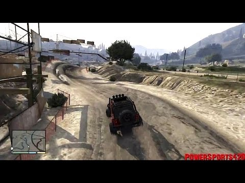 Lets Play GTA V - Episode 053 - Merryweather Jeep Off-Road Adventure - Canis Mesa Off-Road