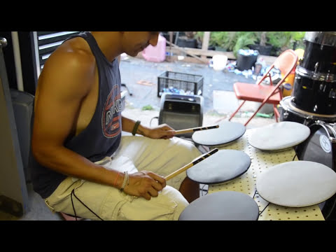 DIY Electronic Drum Pads for Midi and simple drum kit