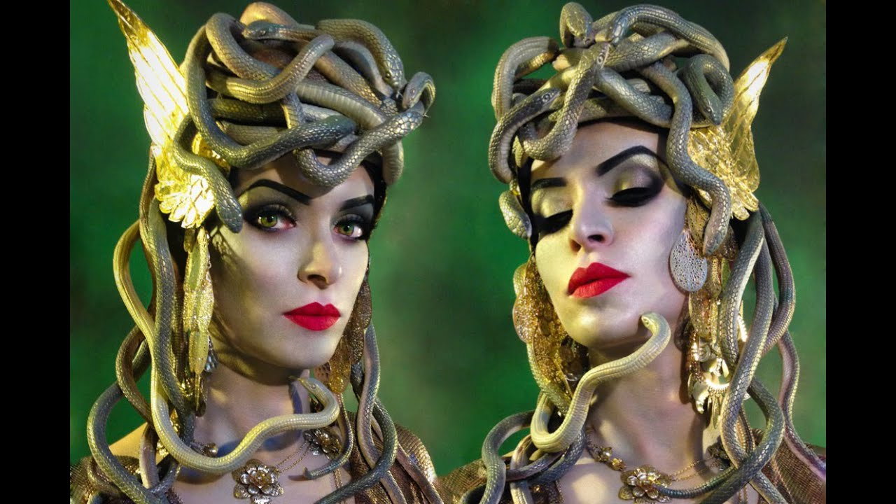 hairstyles for medusa costume images