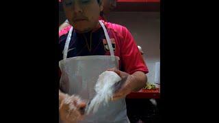 Amazing Onion Cutting Skills