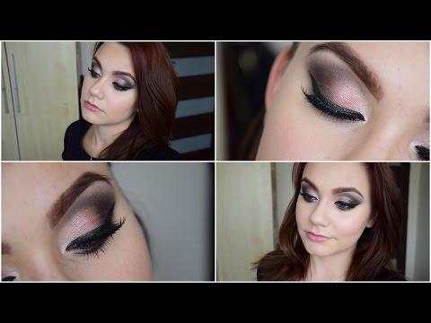 Różowo-granatowe Smokey Eye - Makeup Revolution Iconic 3 *** Mała Czarna ***